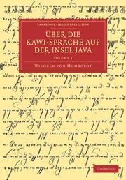 Über die Kawi-sprache auf der Insel Java