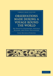 Observations Made During a Voyage Round the World