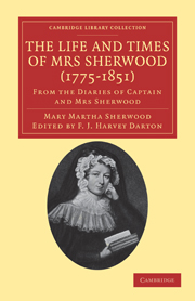 The Life and Times of Mrs Sherwood (1775–1851)