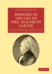Memoirs of the Life of Mrs Elizabeth Carter