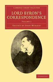 Lord Byron's Correspondence