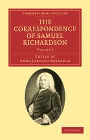 The Correspondence of Samuel Richardson