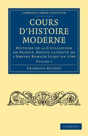 Cours d'histoire moderne