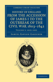 History of England from the Accession of James I to the Outbreak of the Civil War, 1603–1642