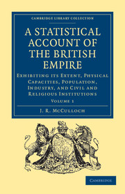 A Statistical Account of the British Empire