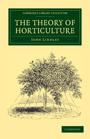The Theory of Horticulture