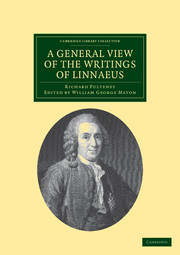 A General View of the Writings of Linnaeus