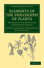 Elements of the Philosophy of Plants