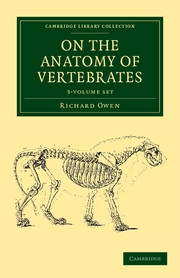 On the Anatomy of Vertebrates