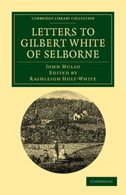 Letters to Gilbert White of Selborne