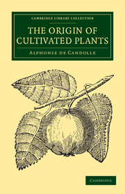 The Origin of Cultivated Plants