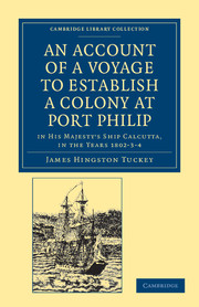 An Account of a Voyage to Establish a Colony at Port Philip in Bass's Strait, on the South Coast of New South Wales