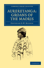 Aureretanga: Groans of the Maoris