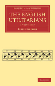 The English Utilitarians