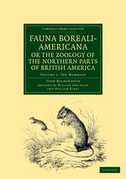 Fauna Boreali-Americana; or, The Zoology of the Northern Parts of British America