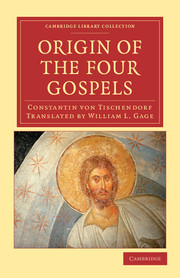 Origin of the Four Gospels