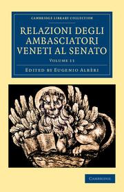 Relazioni degli ambasciatori Veneti al senato