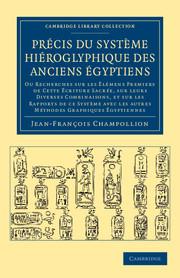 Précis du système hiéroglyphique des anciens Égyptiens