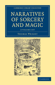 Narratives of Sorcery and Magic 2 Volume Set