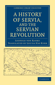 A History of Servia, and the Servian Revolution