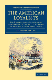 The American Loyalists