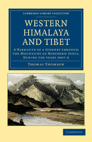 Western Himalaya and Tibet