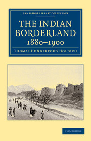 The Indian Borderland, 1880–1900