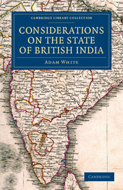 Considerations on the State of British India