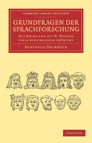 Grundfragen der Sprachforschung