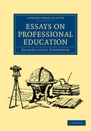 Essays on Professional Education