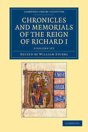 Chronicles and Memorials of the Reign of Richard I