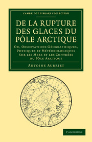 De la rupture des glaces du Pôle Arctique