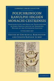 Polychronicon Ranulphi Higden, monachi Cestrensis