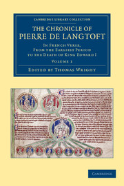 The Chronicle of Pierre de Langtoft