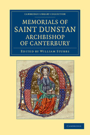 Memorials of Saint Dunstan, Archbishop of Canterbury