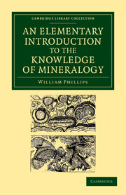 An Elementary Introduction to the Knowledge of Mineralogy