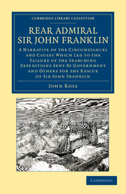 Rear Admiral Sir John Franklin