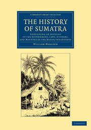 The History of Sumatra