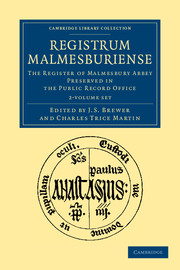 Registrum Malmesburiense