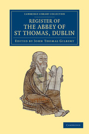 Register of the Abbey of St Thomas, Dublin