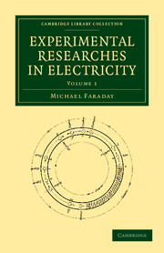 Experimental Researches in Electricity