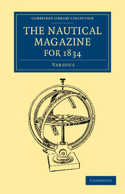 The Nautical Magazine for 1834