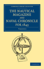 The Nautical Magazine and Naval Chronicle for 1843