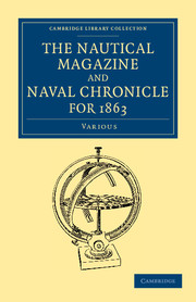 The Nautical Magazine and Naval Chronicle for 1863