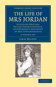 The Life of Mrs Jordan