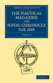 The Nautical Magazine and Naval Chronicle for 1868