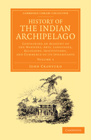 History of the Indian Archipelago