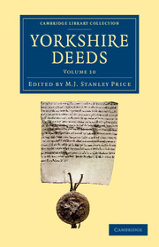 Yorkshire Deeds