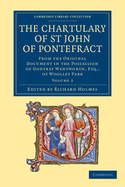 The Chartulary of St John of Pontefract