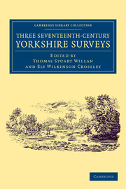 Three Seventeenth-Century Yorkshire Surveys